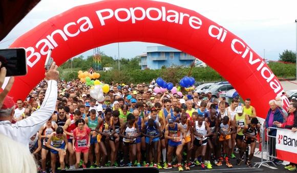 partenza Maratonina di Udine 2016