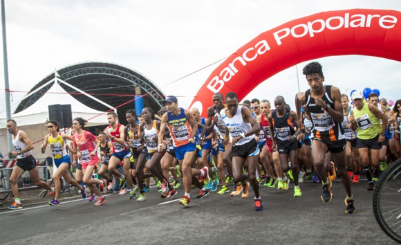 Maratonina di Udine, partenza Cividale