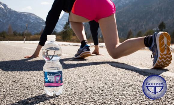 Dolomia, acqua ufficiale della Maratonina di Udine