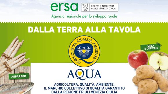 Scegli il marchio AQUA: porta in tavola prodotti di qualità, sicuri e tracciati