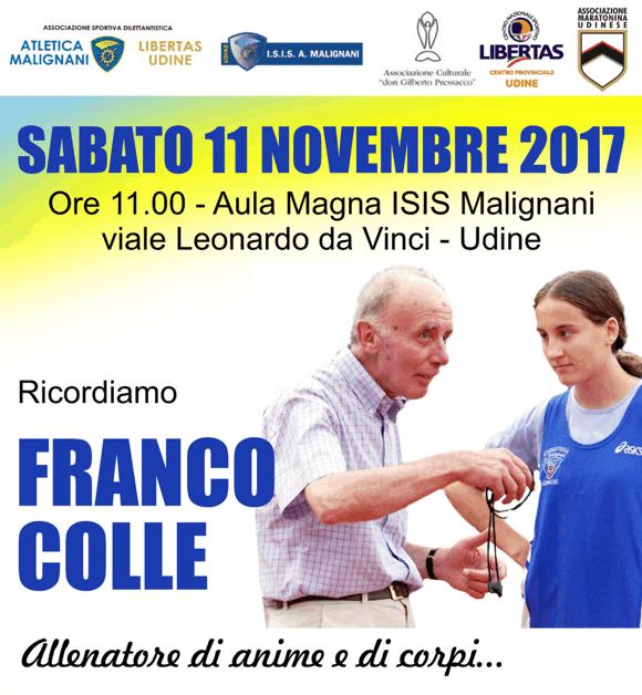 Ricordiamo Franco Colle allenatore di anime e di corpi