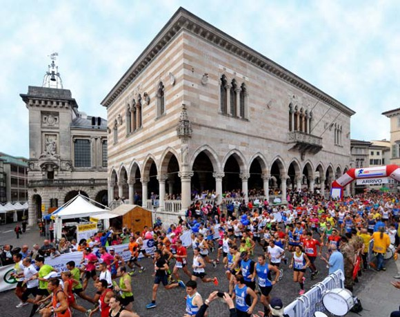 Maratonina di Udine, la Loggia