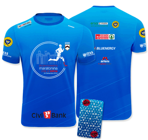 Paccogara Maratonina di Udine 2018