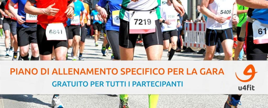 u4fit: piano di allenamento specifico per la gara gratuito per i partecipanti
