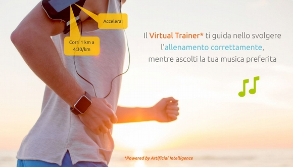 il virtual trainer u4fit