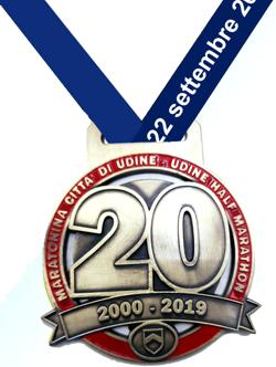 Maratonina di Udine medaglia 20