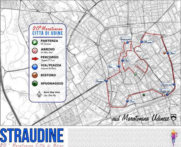 Percorso Straudine 2019