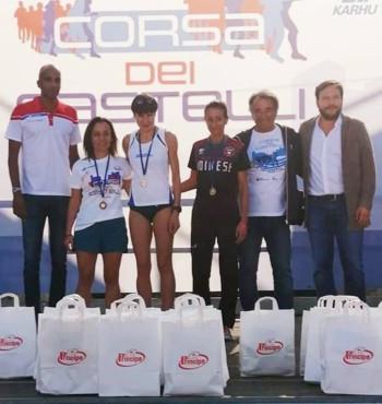 Erika Bagatin Corsa dei Castelli 2019
