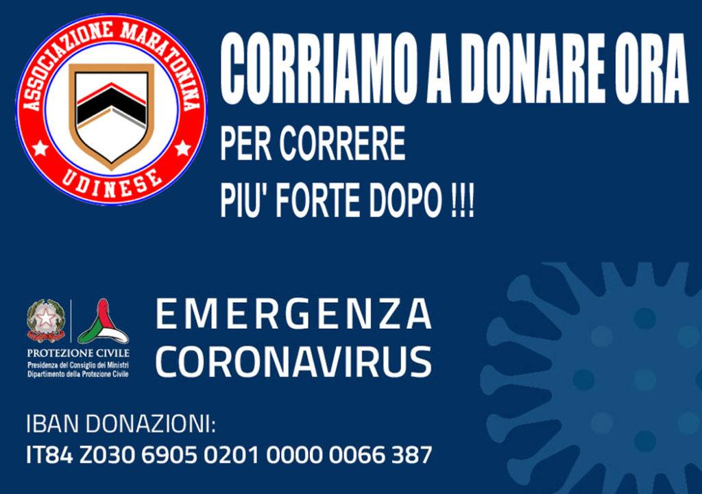 Coronavirus corriamo a donare ora