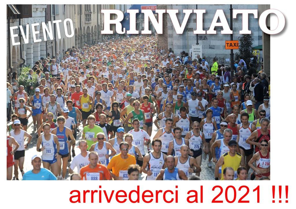 Maratonina UDine 2020 evento rinviato