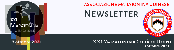 Maratonina di Udine 2021 3 ottobre