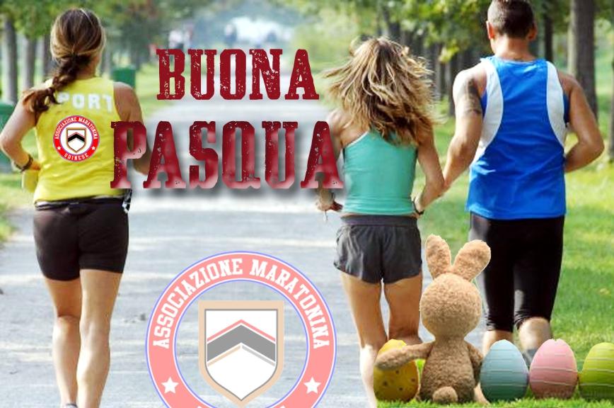 Buona Pasqua 2021 Maratonina Udine