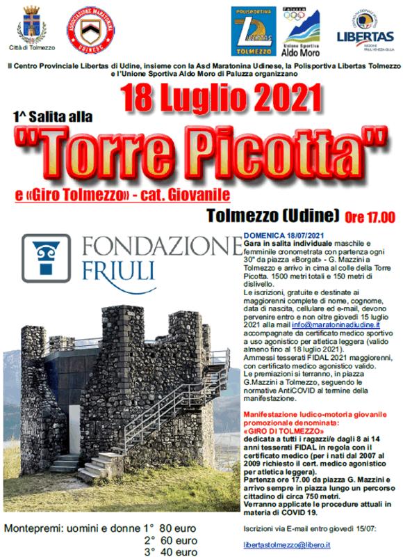 Torre Picotta 18 luglio 2021