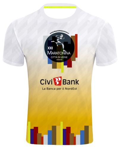T-shirt Maratonina Udine 2021