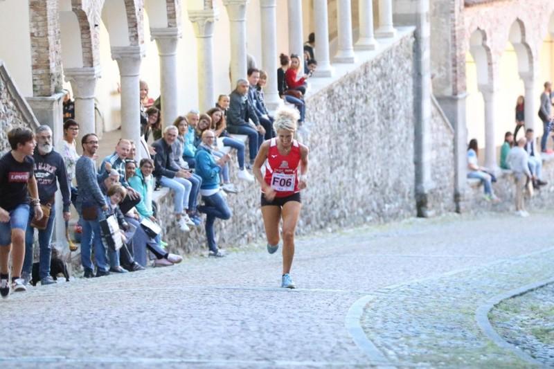 Maratonina di Udine, Salita del Castello