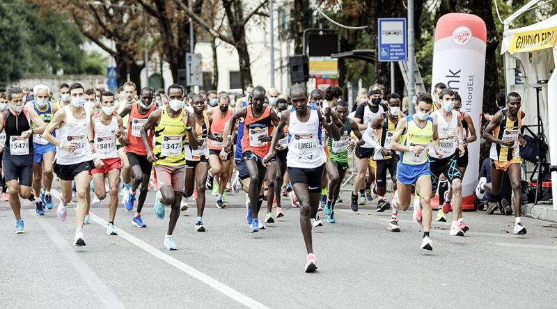 partenza Maratonina Udine 2021